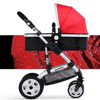 baby style pram - US Style Baby Stroller Bekerhouder Pushchair Lightweight Infant Stroller Prams In Folding With Sun Shade