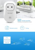 Wholesale Orvibo s20 EU US UK AU Standard Power Socket Wi Fi Smart Switch Travel Plug Socket Home Automation for iPhone Android phones