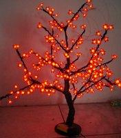 Wholesale LED Christmas Cherry Blossom Tree LED Bulbs m ft Height VAC Rainproof Outdoor Usage