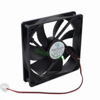 Wholesale 1 quot cm mm x mm Computer PC Case Cooler Cooling Fan DC V Pin x120x25mm