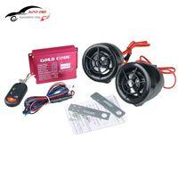 Wholesale Wireless Remote Sound System Motorcycle Car Audio Speakers FM Radio USB SD Speaker Alarm Systems Anti theft Motorbike MP3 Audio