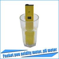 Wholesale 2016 Hot Selling Aquarium Digital PH Meter Tester Pocket Pen Aquarium Water Quality Tester By DHL