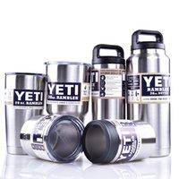insulation - Yeti oz oz oz oz oz oz Rambler Tumbler Bilayer Insulation Cups Cars Beer Mug Large Capacity Mug Tumblerful DHL OTH242