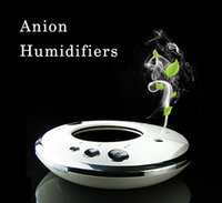 Wholesale 2016 HOT Humidifiers Anion aromatherapy machine aroma diffuser Car Aroma Humidifier Air Humidifier Purifier Mini Aroma Diffuser