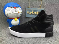 ad solid - ADS Tubular Invader Blue Red Black Grey mens fashion sneakers