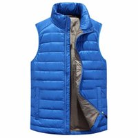 packable waterproof jackets - Mens s Winter Waterproof Packable Puffy Snow Sleeveless Jacket Color Chalecos Ciclismo Hombre Windstopper Duck Down Vest