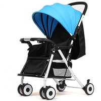 Wholesale Baby Strollers Adjustable Seat New Baby Folding Multifunctional Comfortable Stroller Travel Carriage By Baby Strollers