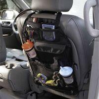 PVC back seat storage bag - Brand New Baby Travel Portable Car Seat Back Storage Multi Pocket Backseat Organizer Bag Holder Stand Hanger