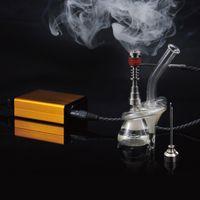 aluminium cigarette case - Hotting sale colourful enail Dnail E NAIL Heater Coil with Aluminium Case Temp Control E Cigarette Dry Herbal Wax Box Vaporizer Kit