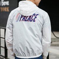 Wholesale Palace Skateboards Jacket Men Hip Hop Street Fashion Triangle Men Jackets Men Thin Windbreaker Army Baseball Outdoor DGK Jacket
