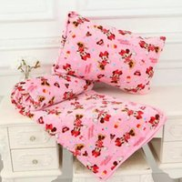 Wholesale 2016 NEW KT pillow case blanket pink high decoration kids freeshipping blankets knitted baby swaddle blanket towel muslin Animal