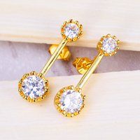 beautiful white women - 2016 New Design Dangle Earring For Women For Evening Dress Beautiful Wedding Engagement Crystal studs Hot Sales Lowest Price 4