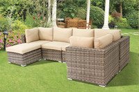 best furniture sofa - Best selling morden Environmental design pieces PE rattan wicker sofa set wicker furniture Garden patio furniture outdoor furniture