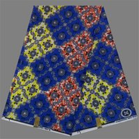 Wholesale Pretty colorful printed African super batik ankara wax fabric for women garments FWT9 yards pc