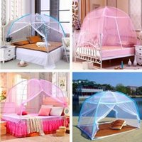 Wholesale Assemble Lace Bedding Mosquito Net Dome Shape Mosquito Curtain use in summer when mosquitoes multipling quickly
