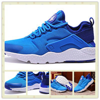air photos - Hot Sale Classic Men Air Huarache Run Ultra Photo Blue Sports Running Shoes Cheap Famous Women Huarache Trainer Sneakers Size