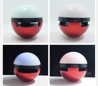Wholesale Colorful Led Wireless Subwoofers Poke Ball Bluetooth Speakers for Halloween Christmas Handsfree Mic Portable MP3 Players for iPhone7 Plus