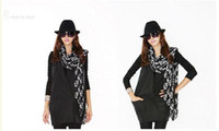 ban han - The new Miss Han Ban voile longer section plus a large skull Scarves color printing