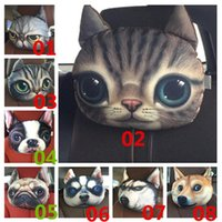 Wholesale New Arrivals Seat Head Neck Cushions Pillow Interior Accessories For Car Animal Patterns Size CM Polyester JN166