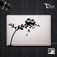 Wholesale bird leaves macbook stickers macbook skin macbook decal laptop decal Vinyl sticker Air Pro retina