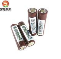Wholesale Original Battery mAh A Rechargable Lithium Batteries VS Sony VTC5 VTC4 LG HG2 HE2 HE4 Battery Fedex