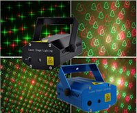 Wholesale 150mW mini Green Red Laser DJ Party christmas Stage Lighting disco laser light