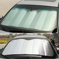 alu windows - xterior Accessories Window Foils Solar Protection Car sunshade file Stoopable sun shading thickening car sunshade sun shading curtain alu