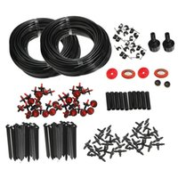 automatic greenhouse watering - 2016 New High Quality m Micro Drip Irrigation Self Watering Automatic System Kit Set Drippers For Plant Garden Greenhouse
