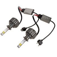 Wholesale H1 H3 H7 H8 H9 H11 W LM Car COB LED Headlight Kit Beam Bulbs K High Power