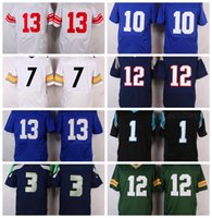 Wholesale Broncos Manning Packers Dodgers Patriots Tom Brady Giants beckham Seahawks Wilson Panthers Newton All Teams