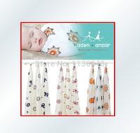bamboo bath sheets - Bamboo fibre Aden anais carbasus baby blanket bath towel bed sheets blanket Baby wrap