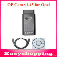 Wholesale 2014 Newest version v2010 OP COM Cable OPCOM V1 OBDII OBD2 Diagnostic Interface for Opel op com scanner in stock