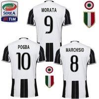 Wholesale DHL Juventusizeres jerseys survetement Marchisio maillot POGBA jersey Dybala Morata running jersey