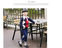 Wholesale Kids Baby children Boy Lace Up Leather Brogue Oxford Dress Shoes Wedding School Tuxedo party fashion