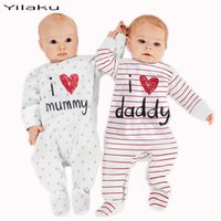 onesies - 2 Colors Unisex Long Sleeve Baby Onesies Polka Dot and Striped Baby Rompers Jumpsuits Baby Clothes Baby Gear FF001