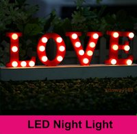 ac word - Wedding party decoration Battery operated led fairy lights quot LOVE quot word lamp for memorial day making a proposal christmas lights