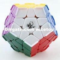 Precio de Dayan juguete-Dayan Megaminx Magic Cube IQ Cerebro Velocidad Rompecabezas juguete aprendizaje educación cubo magico personalizado Juego cubo juguetes