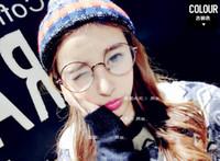 Wholesale Korea Style Plain Glasses Unisex Full Frame Spectacles Round Lens New Brand Design Eyeglasses fashion eyewear
