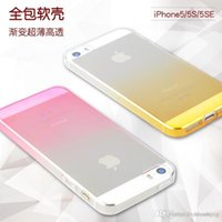 apple iphone symbols - NEW Iris PP Phone Case for iPhone s Colorful Ultrathin Symbol transparent soft phone shell Brand cover