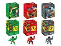 battle boat - Decool DC Hero Batman Super Heroes Action Figure Water Battle Boat Building Block Minifigure Toys
