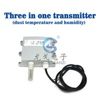 Wholesale Triple V output temperature and humidity sensor transmitter laser dust control
