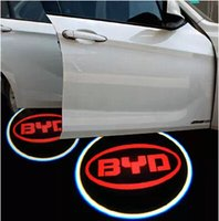 Wholesale High quality BYD G5 M6 S6 E6 F6 F0 G6 F3 G3 L3 Car door Projection light fourth generation car welcome light V3W