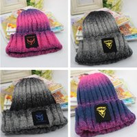 benie hats - warm knitted hat Casual For Woman man Winter Beanie Skull Caps benie hat Active Gradient