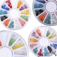 art stone design - 1 Wheel Mixed Stlye D DIY Nail Art Sticker Rhinestone Crystal Gems Beads Stone Tips DIY Manicure Designs Decoration Tools