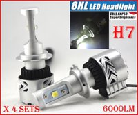 audi license plate holders - Fast Sets H7 W LM CREE LED Headlight System Kit th G XHP Chip Adjustable Holder All in One K Driving Lamp Bulbs Single Beam