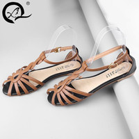aa coffee - sexy lady summer leather lace up strap hollow slingback high heel sandal coffee yellow pink large size real photos colors