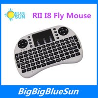 best selling notebook - Best sell Fly Air Mouse G RII Mini i8 Wireless QWERTY Keyboard Mouse Remote Controlers Touchpad for PC Notebook Android TV Box