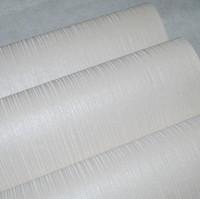 Wholesale Modern striped wallpaper silver wall paper cream glitter wallpaper Roll for living room WP512