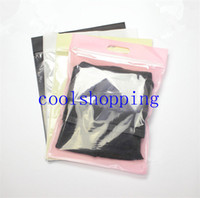 Wholesale 35 CM Packaging Plastic and Non woven Bag for clothes t shirt