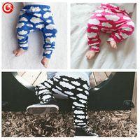 Wholesale 2016 New Arrival Baby Trousers Cloud Printed Kids Boys Casual pants Infant Girls PP Pants Children s Cotton Fashion Clothes color choose
